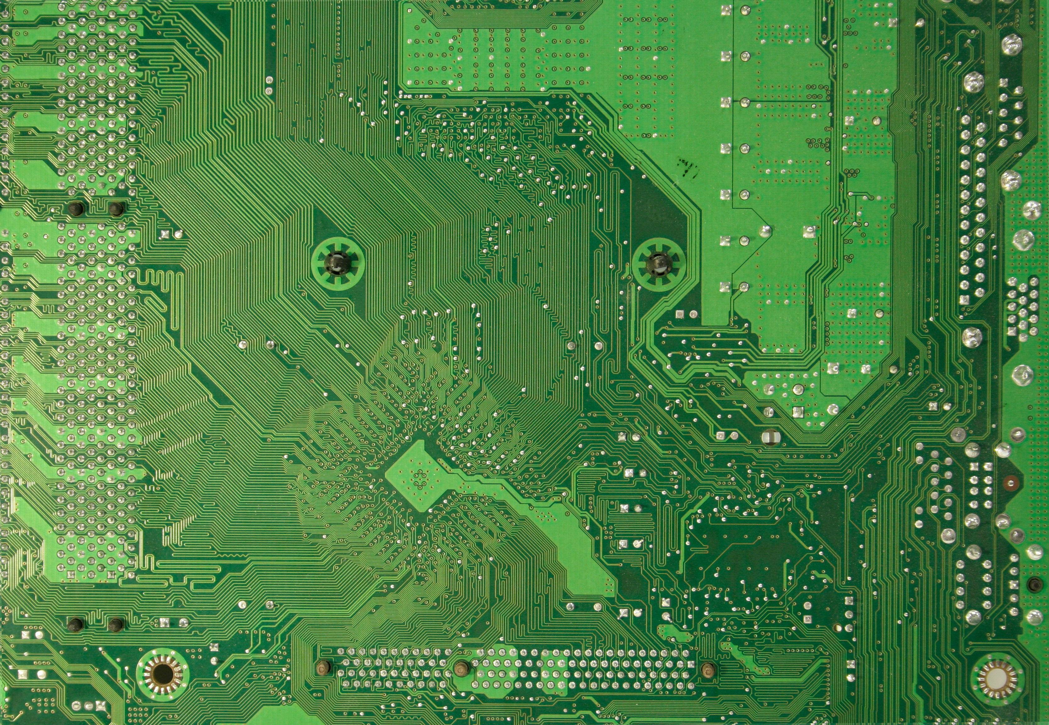 Computer texture green motherboard copper circuit free stock tech ...