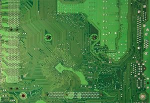 Computer texture green motherboard copper circuit free stock tech photo
