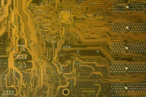 Computer texture yellow motherboard tech stock photo