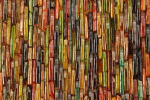 Glass Texture color strip collage tileing chipped rainbow surface