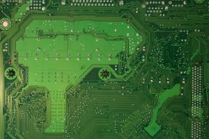 Green motherboard texture free stock computer photo