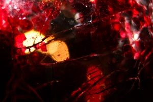 Red Cracked Glass Texture wallpaper background dark broken shattered
