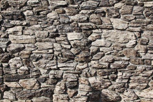Stone Texture Jagged Rock Wall Rough Masonry Photo