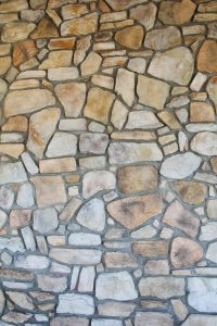 Stone Texture stacked wall flagstone rock surface background photo