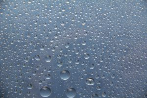 TextureX water droplets drop rainx glass wallpaper blue city Texture