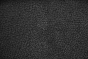 black leather texture large close up grain material dark fabric stock photo