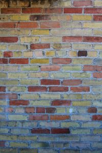 brick texture multi colored red yellow stock photo wall