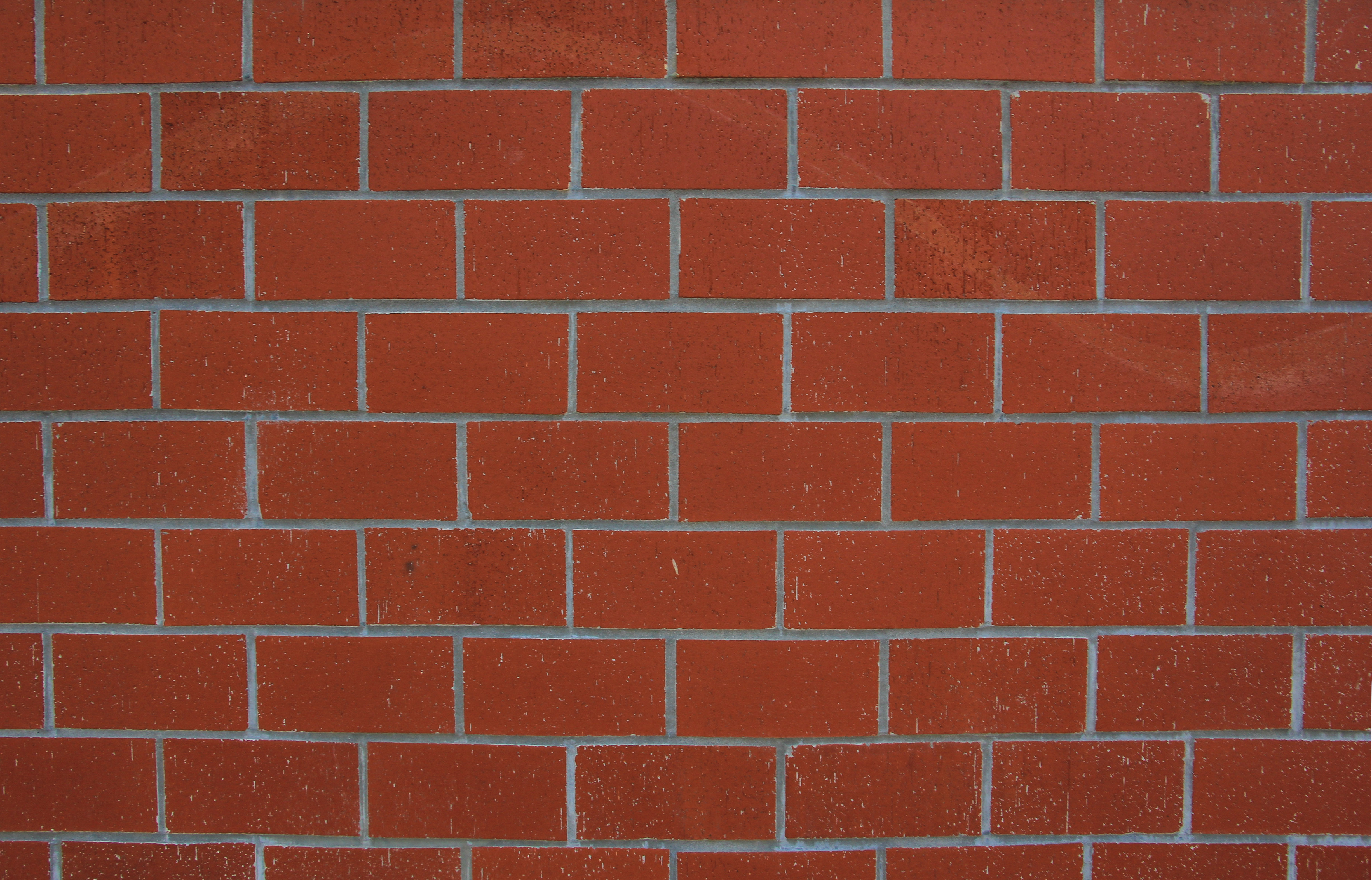Brick Texture Red Wall Dark Masonry Pattern Wallpaper Stock