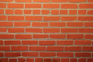 brick texture red wall smooth surface stock photo