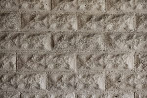 brick texture white stone wall close up rough surface
