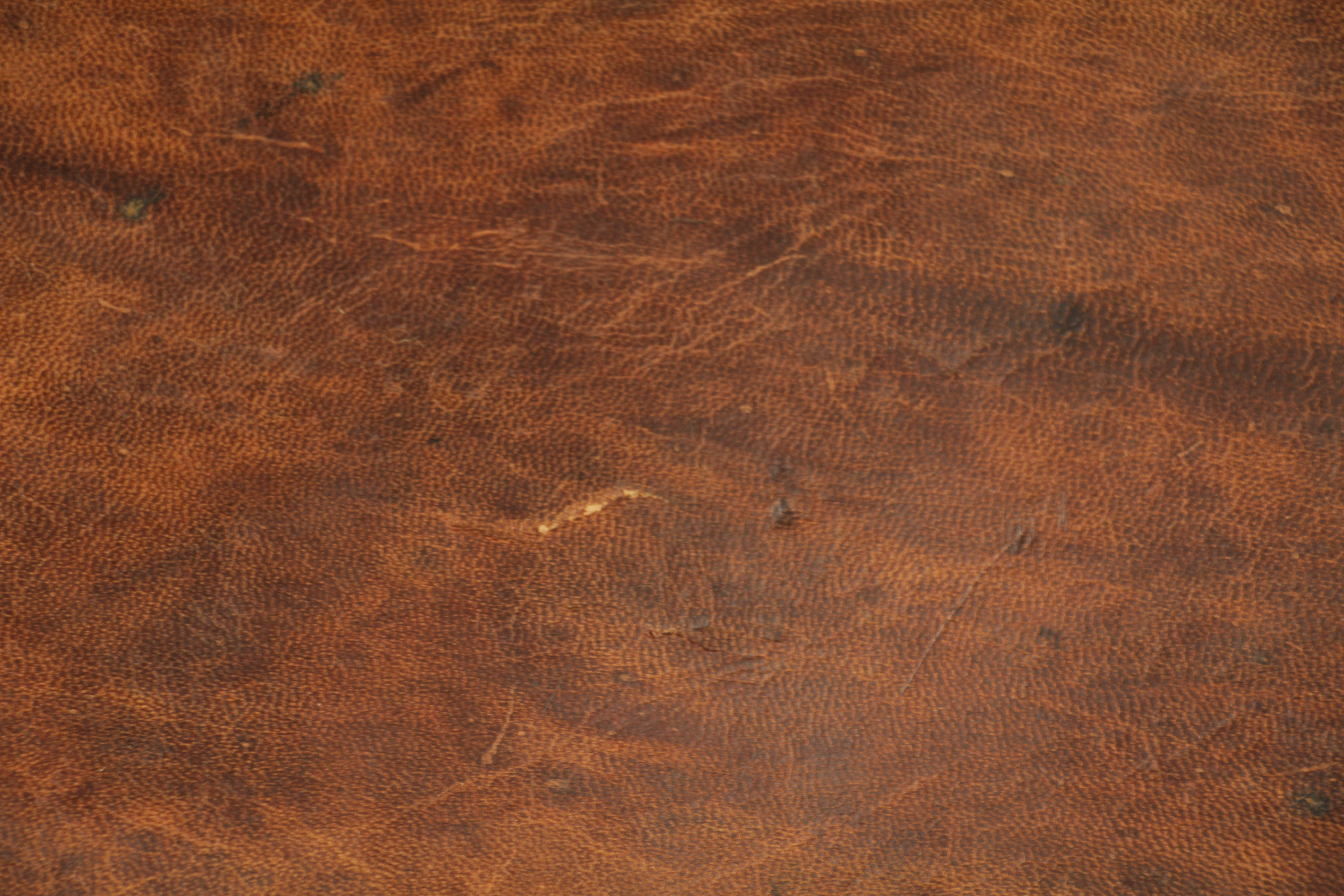 Brown Leather Texture Pattern Material Stock Photo Old Vintage Wallpaper
