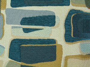 fabric texture abstract design blue pattern vintage retro wallpaper
