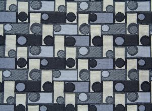 fabric texture circle square pattern design bue grey abstract art
