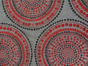 fabric texture red black background retro patterned cloth