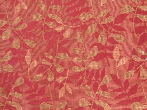 Fabric Texture Red Leaf Pattern Floral Print Desktop Background Unique Background Pattern