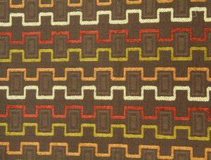 fabric texture vintage retro 70s zig zag pattern