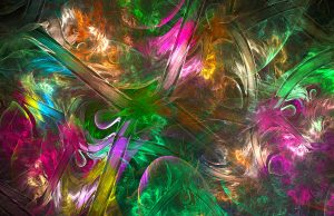 fractal texture abstract messy light color swirl bright