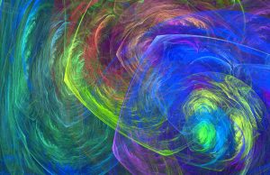 fractal texture color swirl abstract light computer painting stock