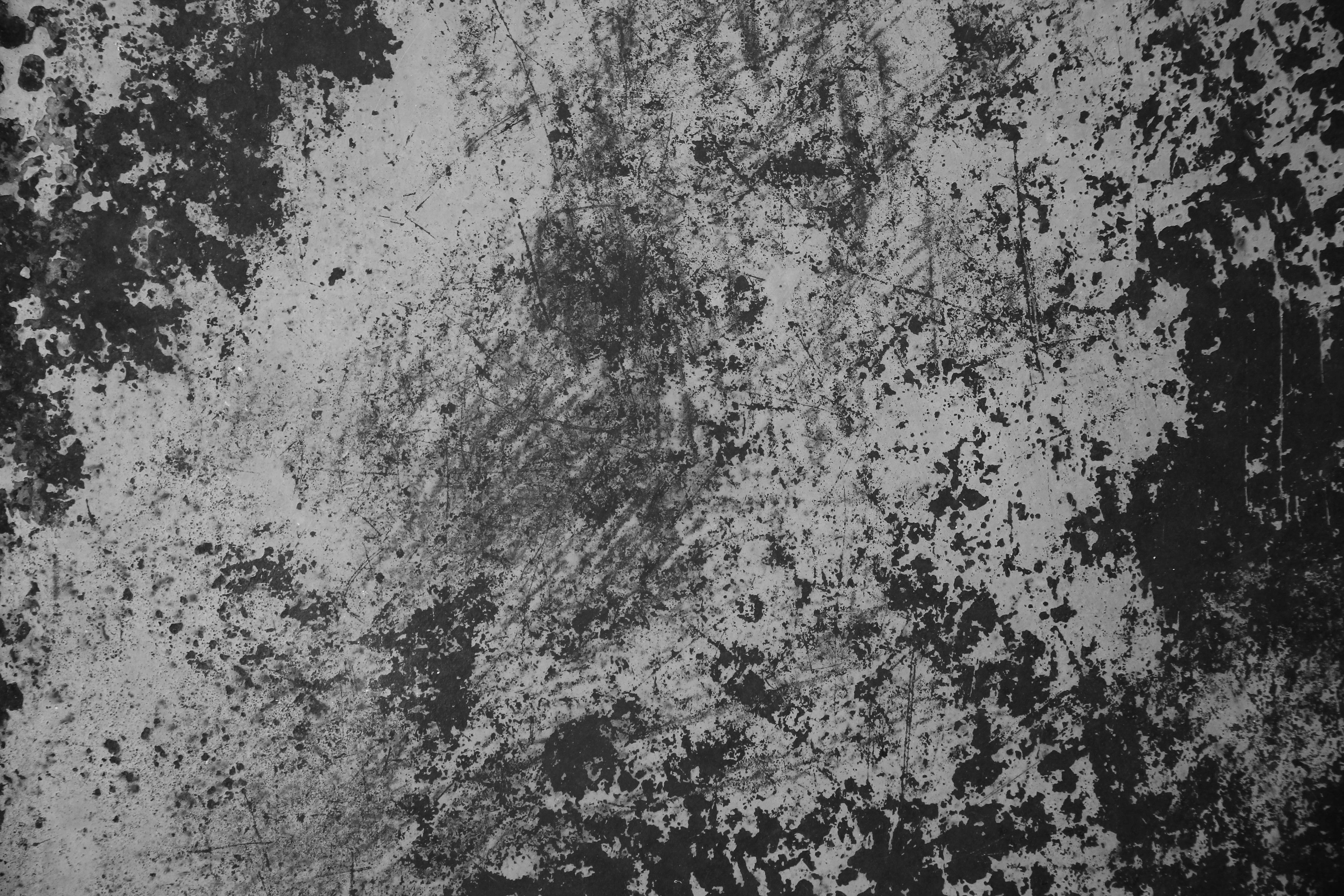 Grunge texture black white painted metal chipped old for Surface container
