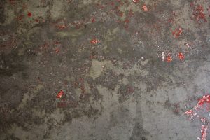 grunge texture concrete grey spotted red paint rough old stock wallpaper