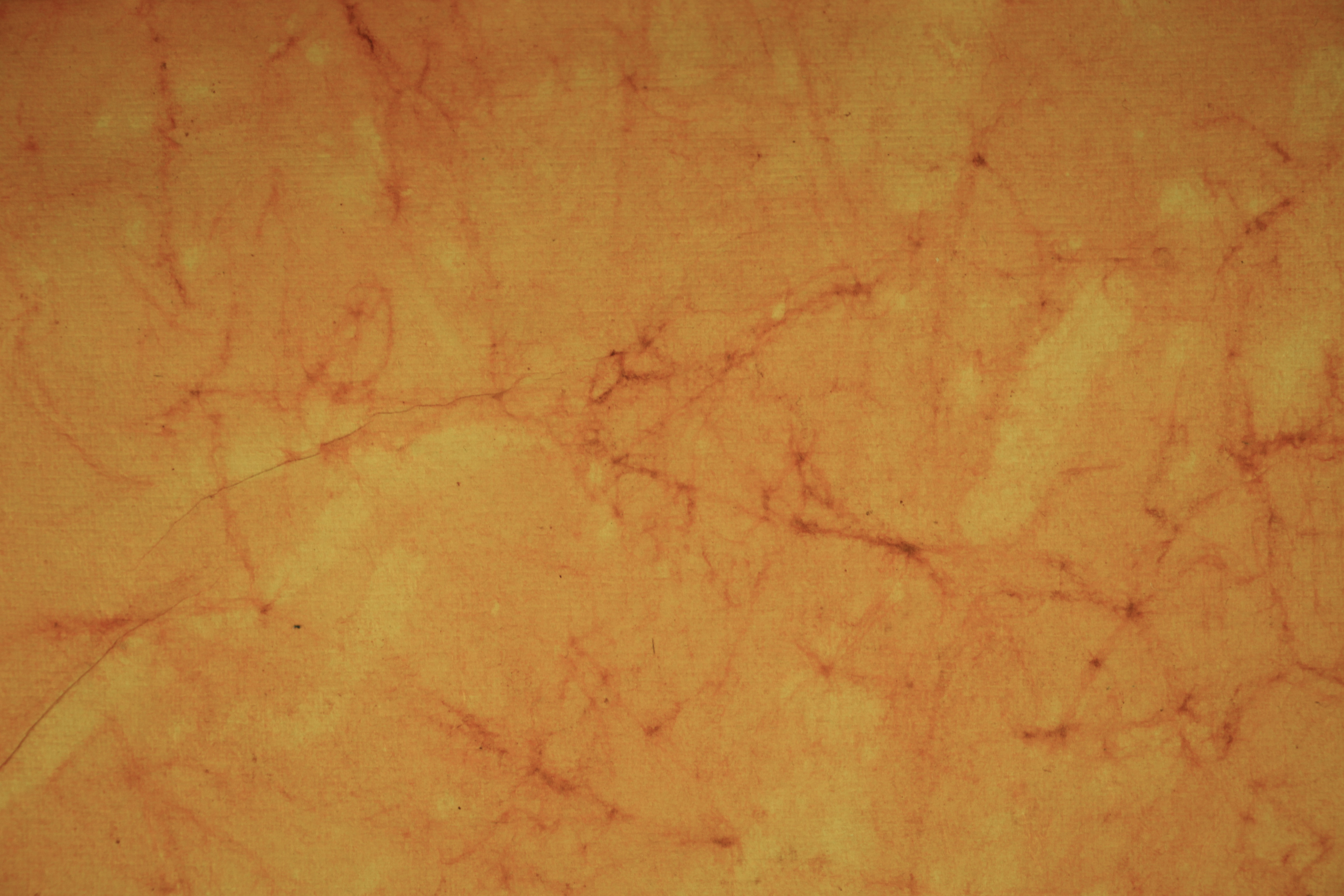 hand made paper texture photo orange pulp visible grain web