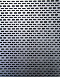 hole metal texture computer surface grill silver grey stock photo