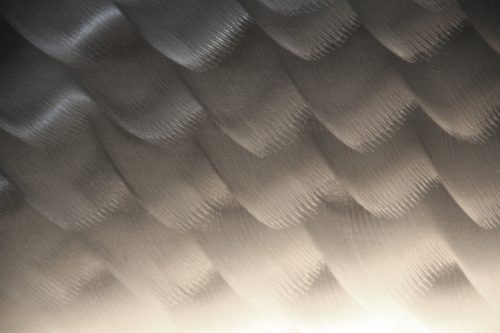 metal texture wave brush wallpaper stainless steel wall photo