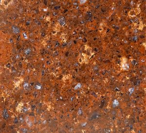 red rock texture granite surface smooth counter stock photo