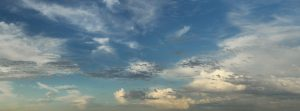 sky texture high resolution panoramic blue green clouds stock photo