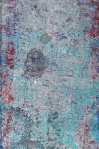 spotted grunge texture red blue natural dirty abstract background stained fused