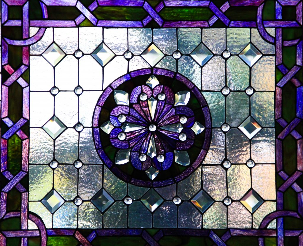 stained glass texture stock photo purple window frosted. Black Bedroom Furniture Sets. Home Design Ideas