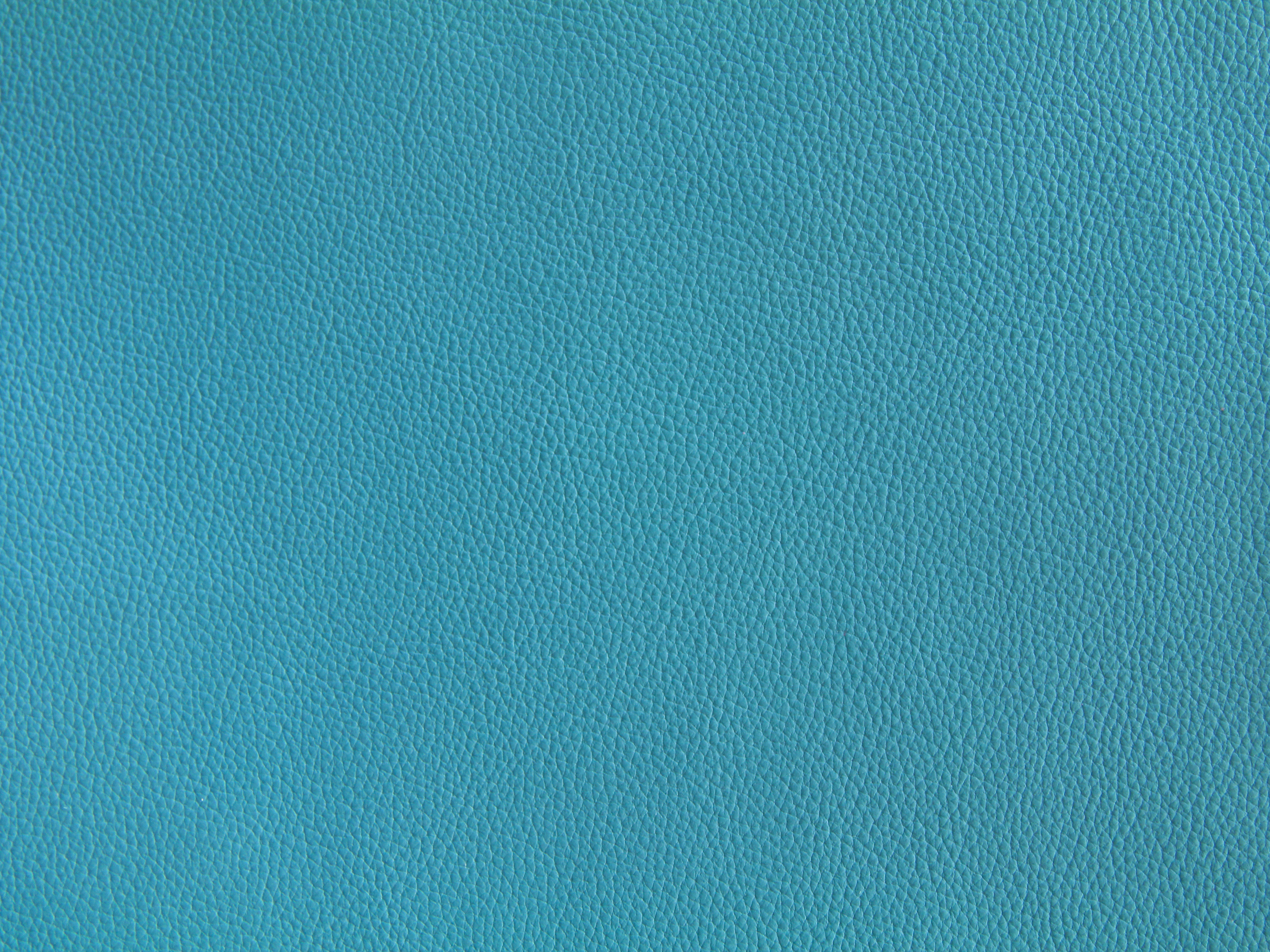 Teal Leather Texture Bright Blue Design Fabric Stock Photo