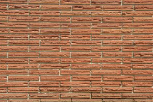 thin brick texture red wallpaper stock photo