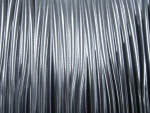 wavy metal texture rippled steel silver surface polished abstract wallpaper