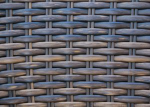 woven wood texture multi colored furniture_