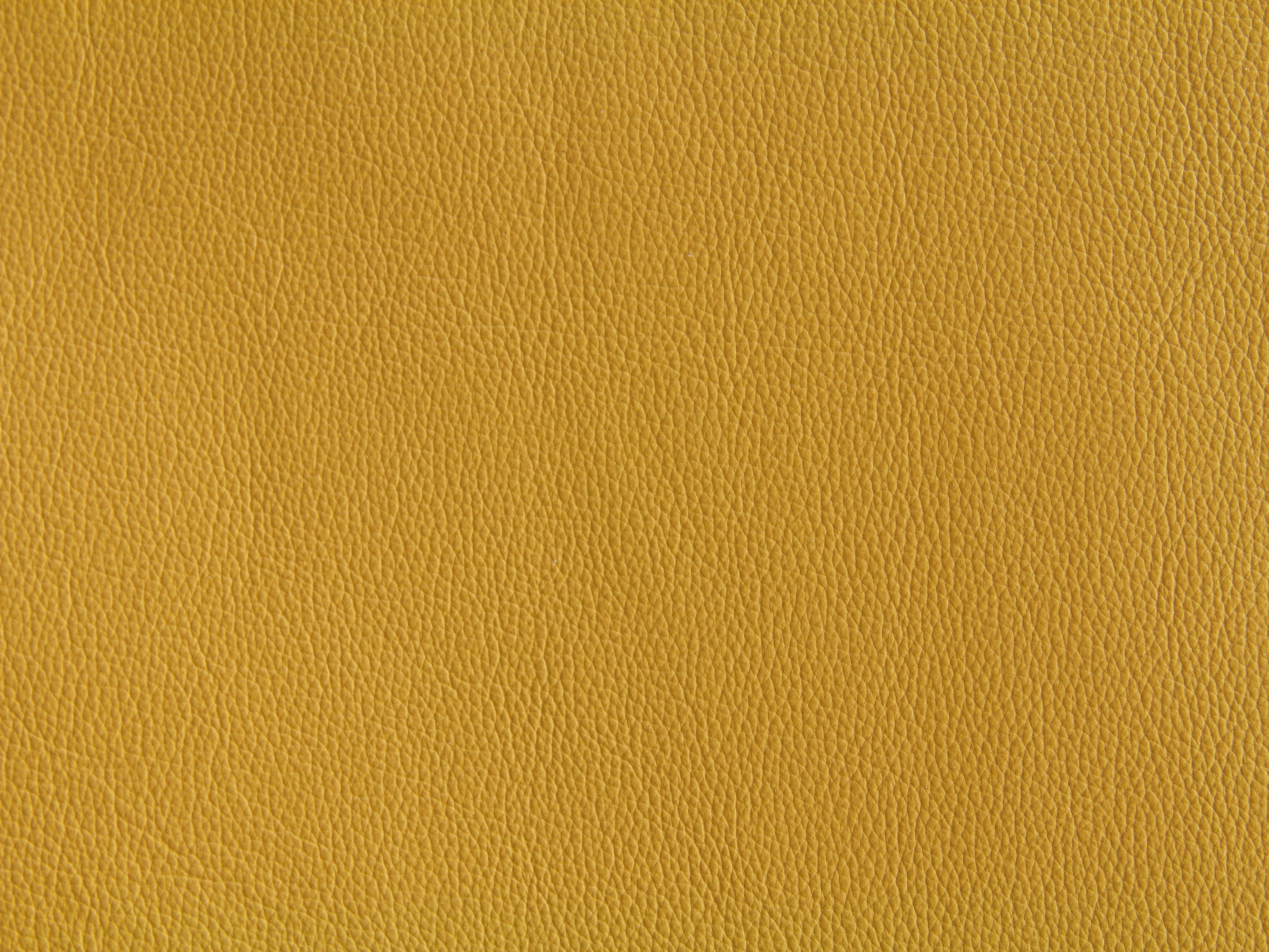 Yellow Leather Texture Wallpaper Fabric Material Design Bright Stock Photo