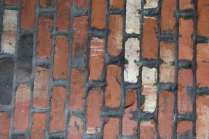 brick photo- old wall with red color