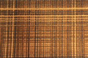 fabric rustic grid patternc close up
