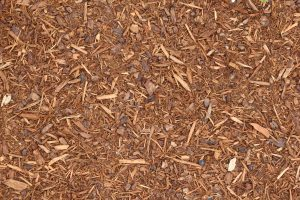 ground outside texture wood chips spread